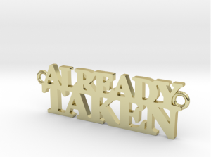AlreadyTaken_18kGoldPlateRender
