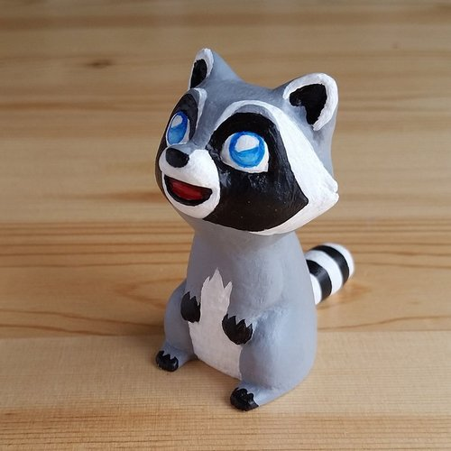 Raccoon – smart and cute!