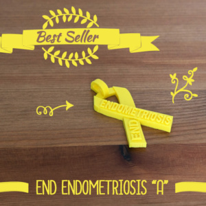 End Endometriosis Awareness Ribbon