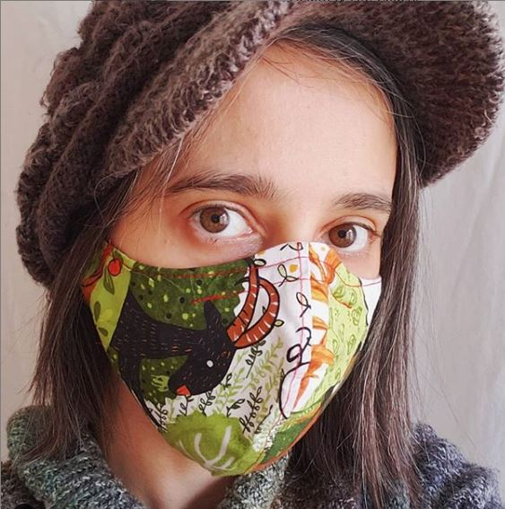 Hand Sewing Masks Time!