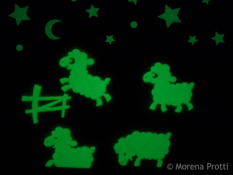 Counting Sheep to fall asleep!