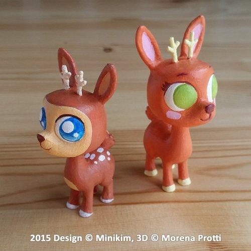 Sweet deer eyes… in 3D!